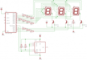 LM75 Temperature Sensor Schematic